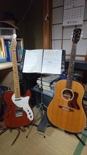 ギターたち その2.JPG
