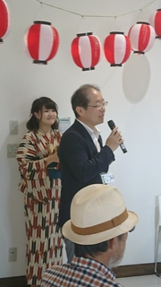 トーク会場 駅長挨拶 1.JPG